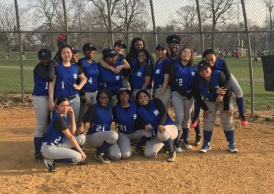 Softball group